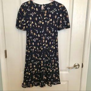 Vintage Liz Claiborne Floral Dress Size 4